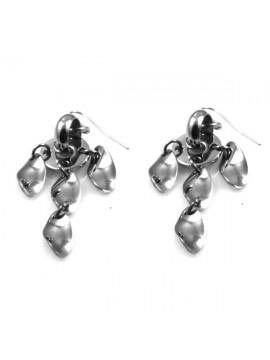 orecchini in acciaio donna