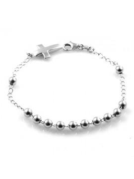 bracciale rosario in argento 925 - bcc1197