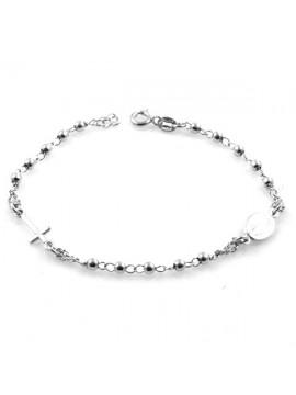 bracciale rosario in argento 925 - bcc1198