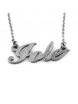 collana con nome jole in acciaio inossidabile