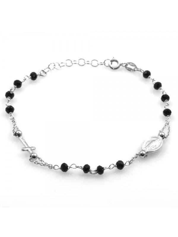 bracciale rosario in argento 925 bcc1390
