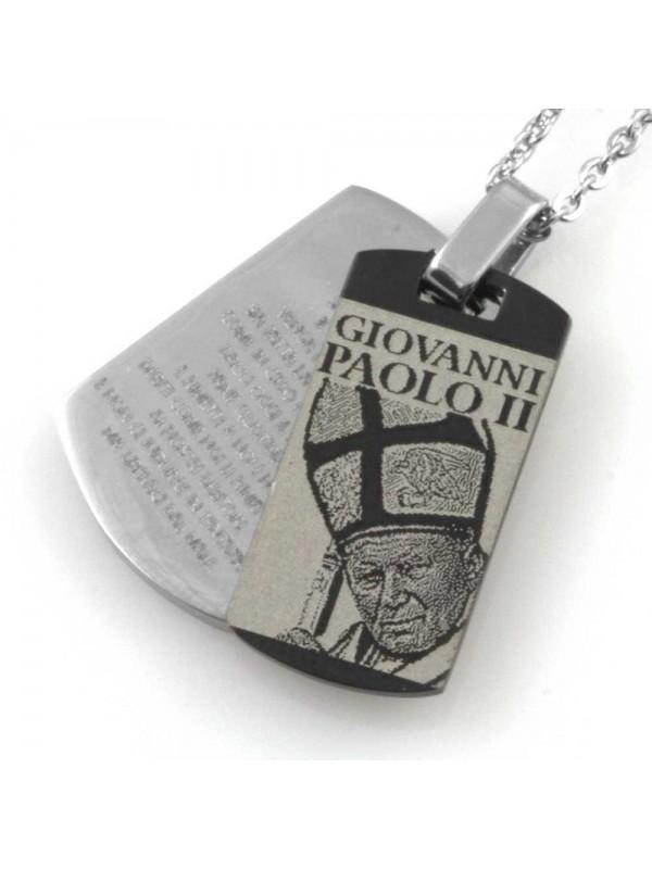 Collana di papa giovanni paolo II wojtyla cln0204