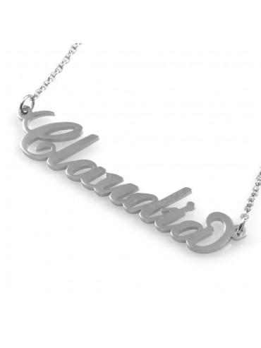 Collana con nome claudia - cll0855