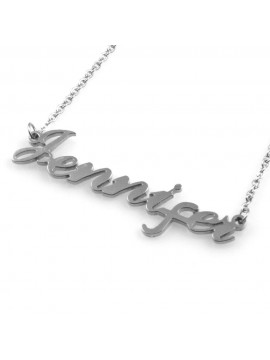 Collana con nome jennifer - cll0867