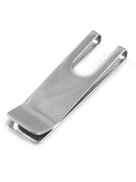 Ferma soldi in acciaio uomo personalizzabile con incisione fsl027