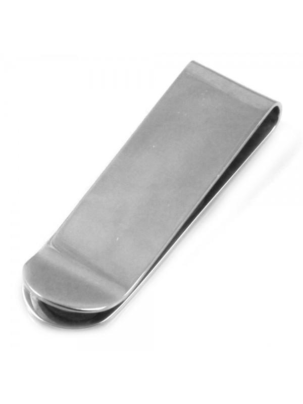 Ferma soldi in acciaio uomo personalizzabile con incisione fsl028