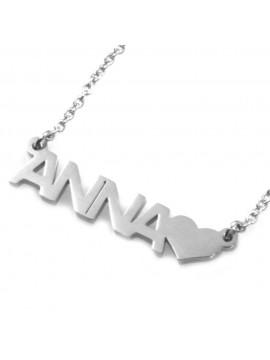 Collana con nome anna - cll0850