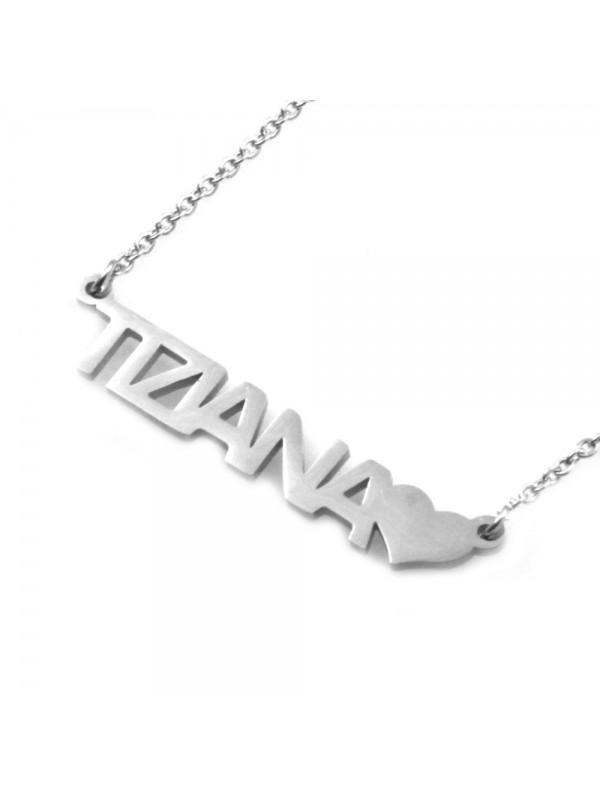 Collana con nome tiziana - cll0884