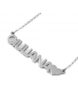 Collana con nome giuliana - cll0864
