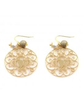 orecchini donna trinacria sicilia fichi d'india gioielli siciliani occ0110