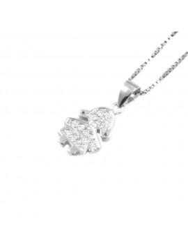 Collana bebè bimba femminuccia in argento 925 cll0802