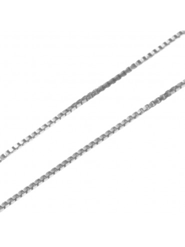 collana catenina per ciondoli veneziana cm 60 confezione da 5 pezzi - vd1560a