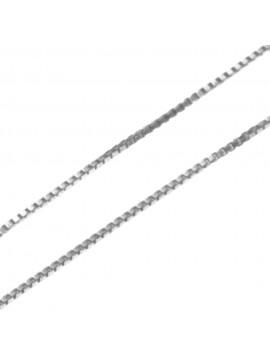 collana catenina per ciondoli veneziana cm 45 confezione da 5 pezzi - vd1545a