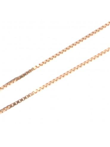 collana catenina per ciondoli veneziana cm 45 confezione da 5 pezzi - vd1545r