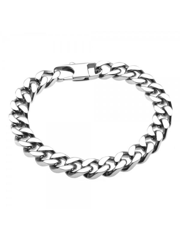 Bracciale grumetta in acciaio uomo - bcc0386