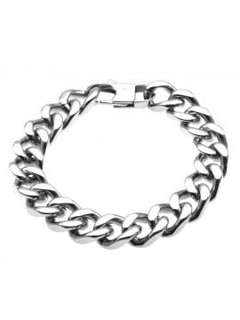 bracciale grumetta uomo in acciaio - bcc1153