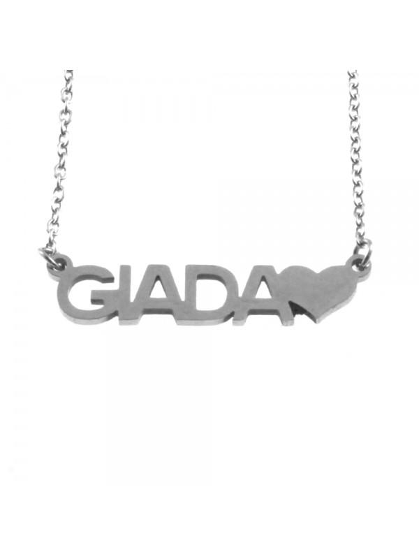 Collana con nome giada - cll0862